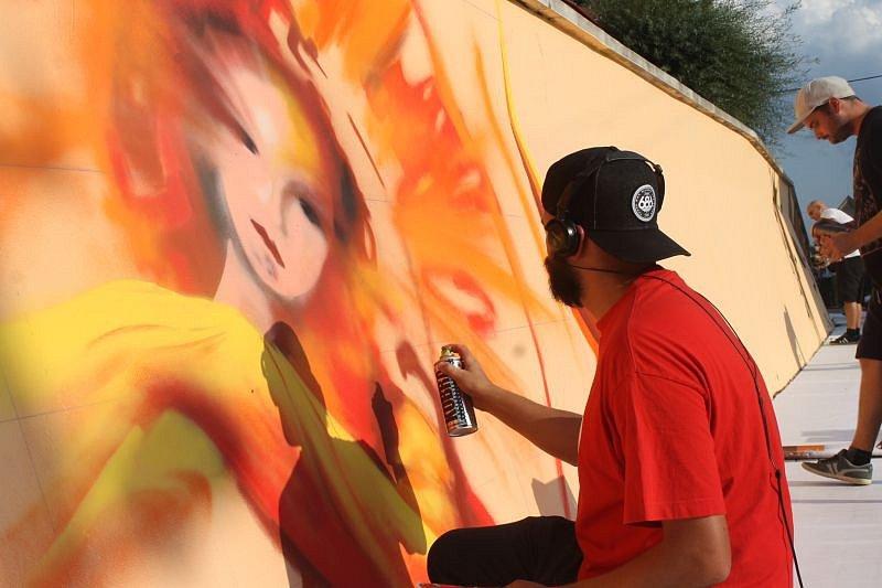 Bolatice už potřetí zažily hudebně-výtvarný festival Art Jam.