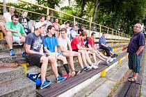 Začátek přípravy hokejbalistů SHC Opava.