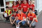 Opavští skauti se o víkendu zapojili do celostátní dobročinné sbírky nazvané Společně proti leukémii.
