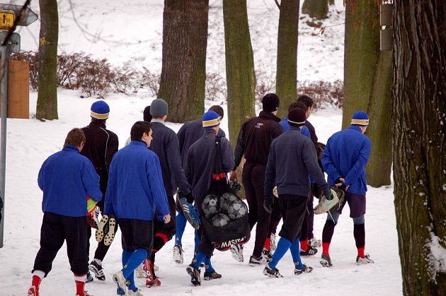 Fotbalistům Slezského FC Opava začala zimní příprava.