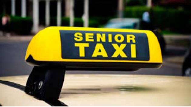 Senior taxi. Ilustrační foto.