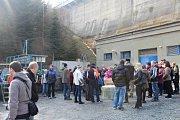 Den otevřených dveří na Kružberské přehradě.