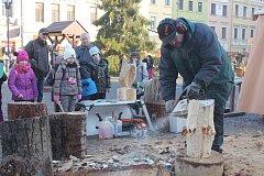 Opavské Dolní náměstí opět ožilo tradičními lidovými řemesly.
