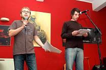 Večerem doprovázeli zleva Dan Jedlička a Jan Kunze.