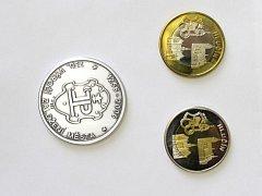 Radost sběratelům a milovníkům mincí se rozhodlo udělat Muzeum Hlučínska, které po dohodě s vedením města začalo prodávat pamětní mince, které si Hlučín nechal vyrobit k 750. výročí založení města králem Přemyslem Otakarem II.