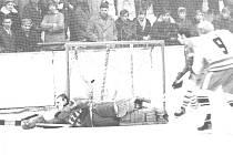 Historické snímky opavského hokeje.