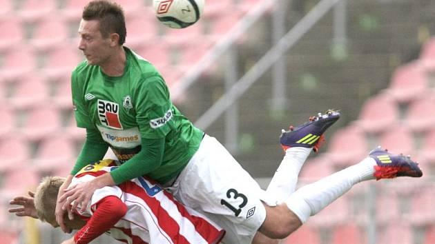 Dominik Simerský (v zeleném)