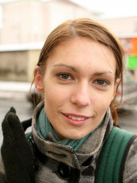 Andrea Prusková, 19 let, Opava, studentka - Žádné. Už vím, že je nesplním, takže je to úplně zbytečné. Nemám na to zkrátka vůli.