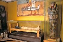 Návštěvníky muzea v Ratiboři zaujme egyptská mumie.