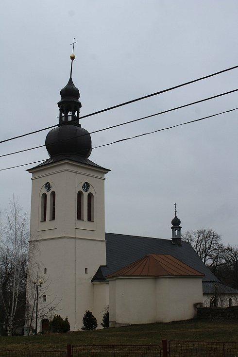 Kostel Narození Panny Marie.