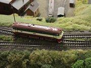 Železniční modeláři ve Lhotě