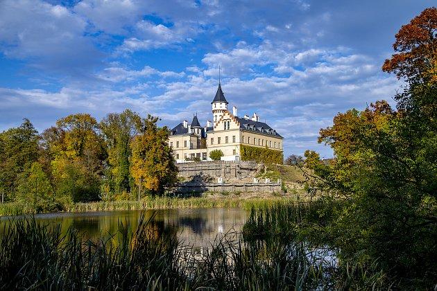 Eva Kolářová byla 'dobrou vílou' raduňského zámku.