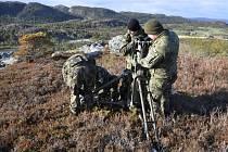 Opavští vojáci museli při testovací akci v Norsku čelit náročným podmínkám.