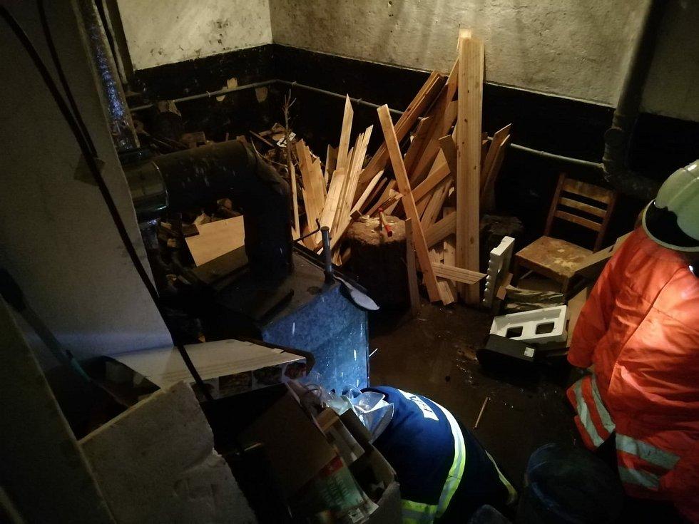Nejhůře dopadl dům u Ivany Mečiarové ve Slezské ulici.