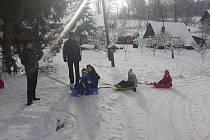 Zima  na Opavsku objektivem čtenářů.