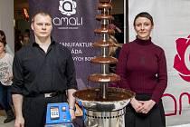 David Tekeneš se výrobě čokolády začal věnovat před dvěma lety.