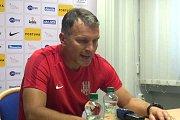 Rozhovor s Romanem Skuhravým po zápase s Jabloncem.