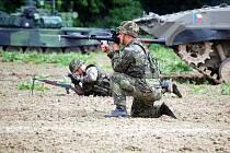 Fanoušci armády si přijdou na své. Čeká je ukázka jak historické, tak i současné vojenské výstroje a výzbroje.