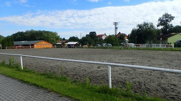 V Hlučíně někdo pustil koně z výběhu.