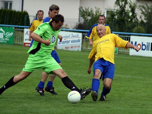 Součástí charitativní akce byl také turnaj sponzorů.