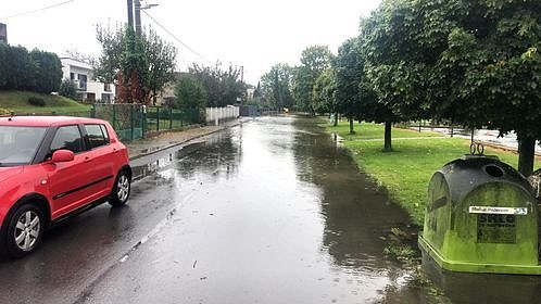 Situace ve středu 14. října dopoledne v Hošticích a okolí na Opavsku.