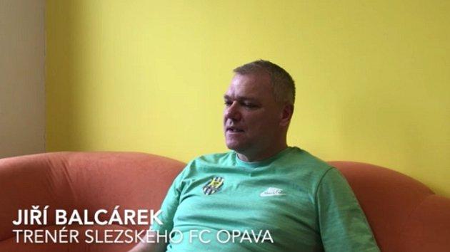 Kouč Jiří Balcárek před Zlínem