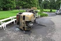 Pět dětí se lehce zranilo v sobotu odpoledne v Kravařích na Opavsku při nehodě motorové tříkolky.