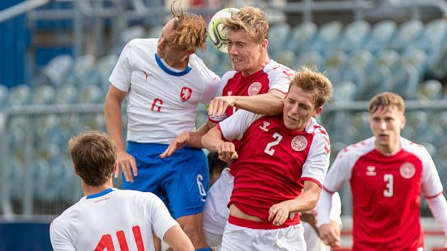 U19 ČEsko - Dánsko