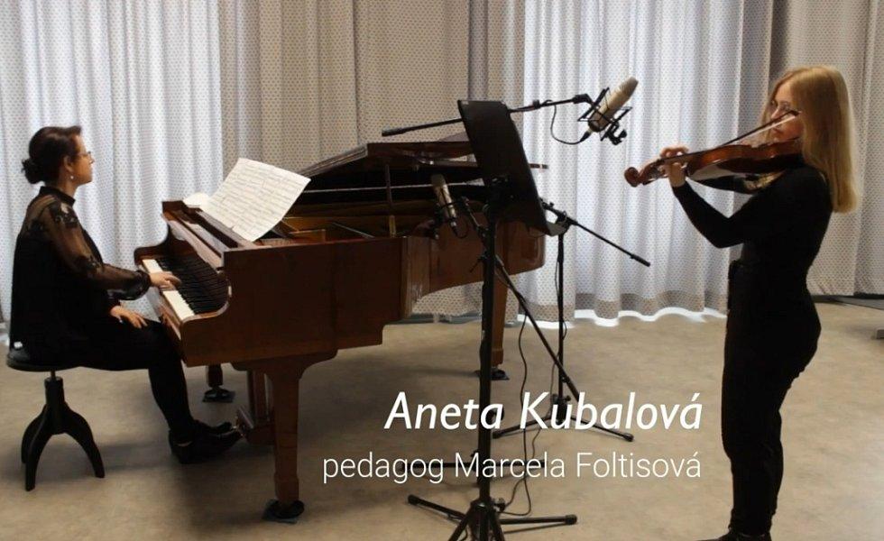 Letní koncert ZUŠ Opava 2021.