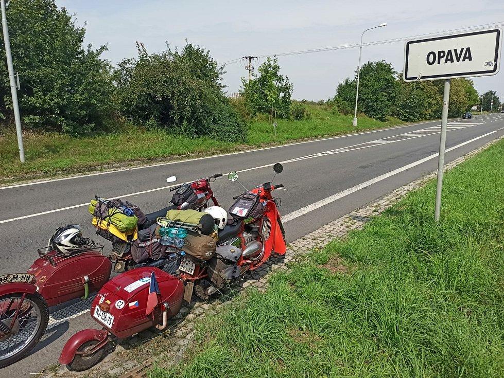 Zpět doma v Opavě.