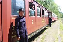 Železniční trať spojující Opavu a Svobodné Heřmanice o víkendu oslavila 125. výročí svého vzniku. Svézt jste se mohli také v soupravě, která v současnosti české železnice už nebrázdí.