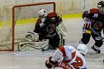 Hokejový klub Opava – VSK Technika Brno 2:3 po nájezdech