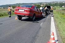 Úterní dopravní nehoda u Velké Polomi.