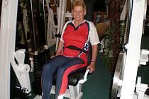 Někdejší mistryně světa v hodu oštěpem a bývalá reprezentantka Rakouska Gertrud Schonauer je stále ve vynikající kondici.