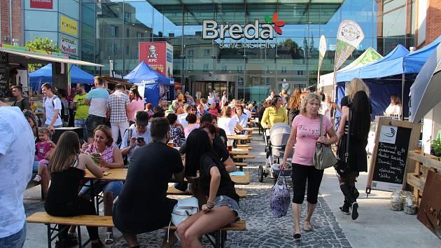 Babí gastro festival v Obchodním centru Breda & Weinstein v Opavě.