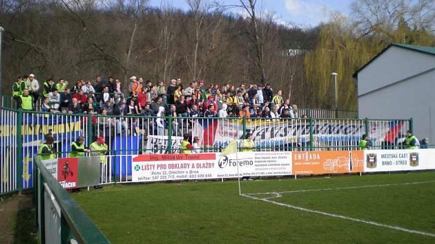 Opavští fanoušci patří ke chloubě Slezského FC. I na minulý zápas do Bystrce se jich vydalo hodně.