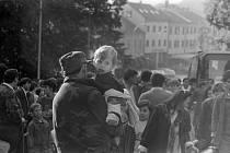 Dobové fotografie poskytla NVI Jednota se sídlem v Daruvaru a Svaz Čechů v Republice Chorvatsko.