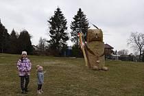 Velikonoční zajíc v Hlučíně.