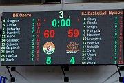 BK Opava - ČEZ Basketball Nymburk 79:81