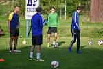Fotbalový klub TJ Ludgeřovice, 10. září 2020 v Ostravě.