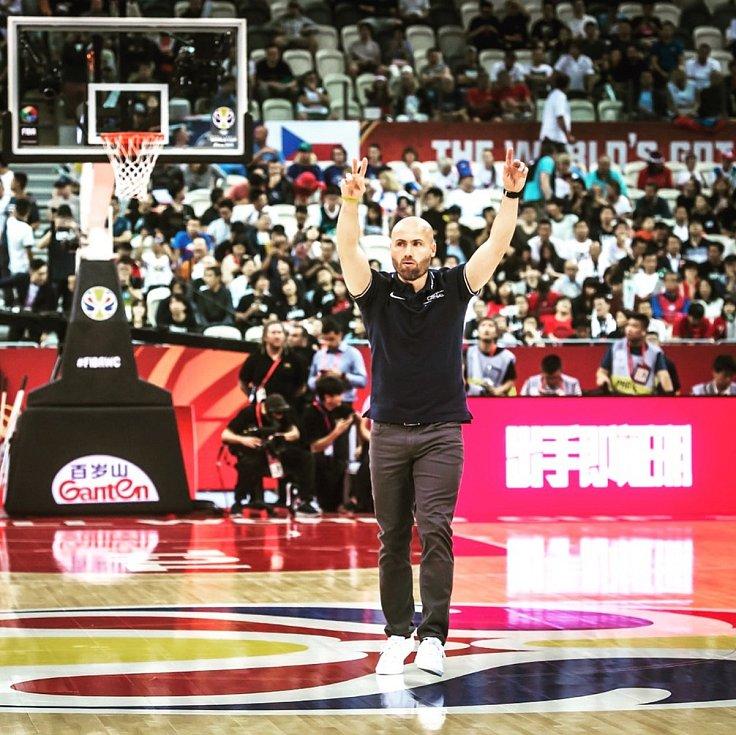 Michal Miřejovský je kondičním trenérem české basketbalové reprezentace. Foto: archiv Michala Miřejovského