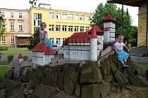 Největší radost dělá Karlštejn ve Slezské nemocnici dětem.