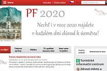 Úvodní strana opavského webu.