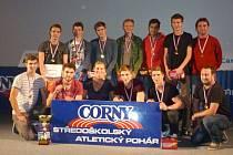 Borci z opavského Mendelova gymnázia ovládli republikové finále tradiční soutěže CORNY.