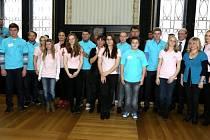 Ocenění obě dívky spolu s ostatními slavnostně převzaly v Brožíkově síni Staroměstské radnice v Praze.