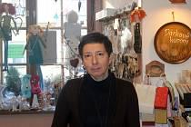 Majitelka obchodu Janeta Prusková.