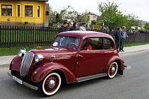 Rallye Kančí hory se konalo již pošesté v Hlubočci, kde si na začátku května dali dostaveníčko příznivci historických vozidel.