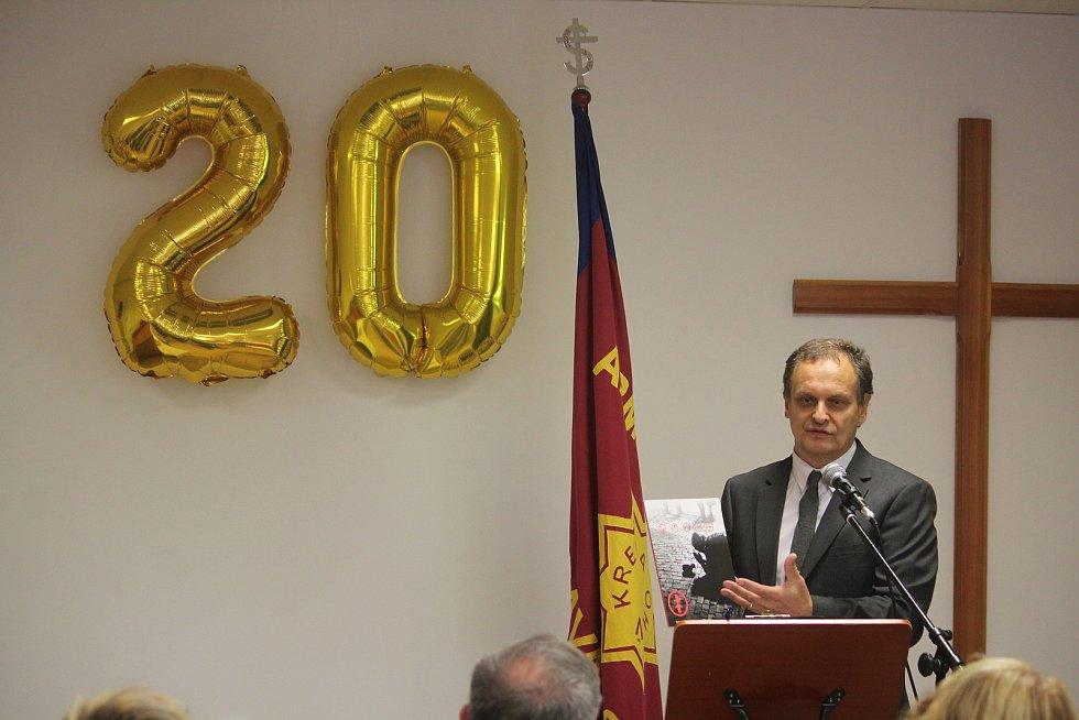 Armáda spásy v Opavě slaví dvacet let své činnosti. Na snímku ředitel AS Opava Gerhard Karhan. Opava, 10. září, 2021.