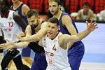 Z basketbalového utkání Kooperativa NBL Nymburk - Opava. Foto: Tomáš Laš