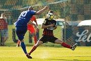 Vlašim - Zápas 23. kola Fortuna národní ligy mezi FC Vlašim a SFC Opava 22. dubna 2018 ve Vlašimi.